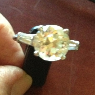The original Vintage Diamond Ring 'Sparkler'